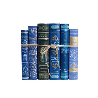 Leather Azure Classics Gift Set, (S/6) For Sale