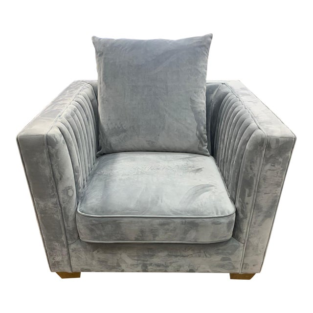 Gray Blake Occasional Chair For Sale