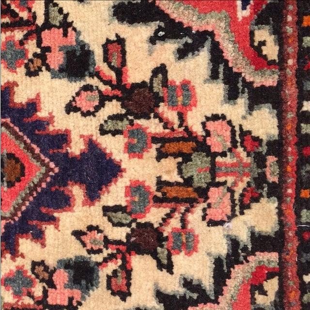 Hamadan Persian Rug - 1′6″ × 2′2″ - Image 7 of 10