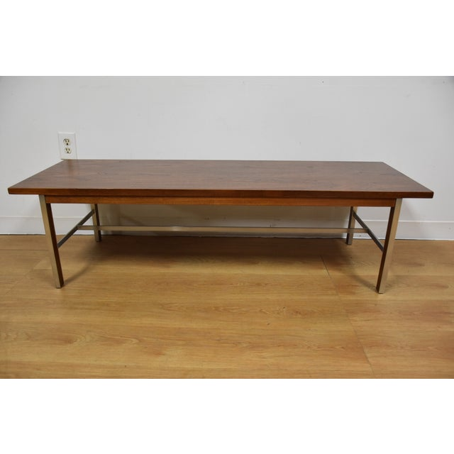 Paul McCobb for Calvin Walnut Coffee Table - Image 3 of 8