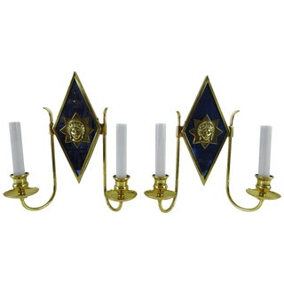 Russian Style Sconces - a Pair