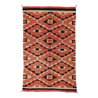 """Old Navajo Rug, 4'6"""" X 7'1"""" For Sale"""