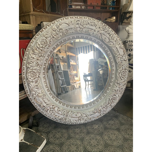 1990s Grand Baroque Mirror For Sale - Image 13 of 13