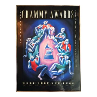 Yuroz 1993 Grammy Awards Poster