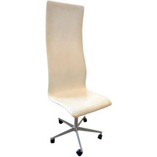 Oxford Highback Chair by Arne Jacobsen For Sale