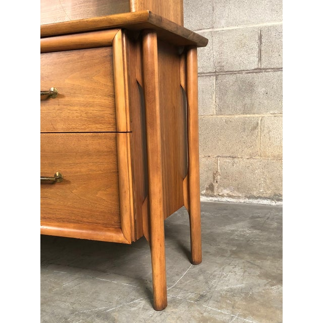 Mid-Century Modern China Cabinet / Bookcase / Display Case - Image 10 of 11
