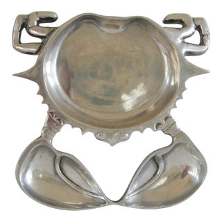 Aluminum Crab Appetizer Plate For Sale