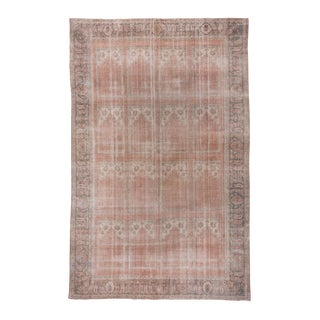 "Turkish Oushak Rust Rug-10'10x17'10"" For Sale"
