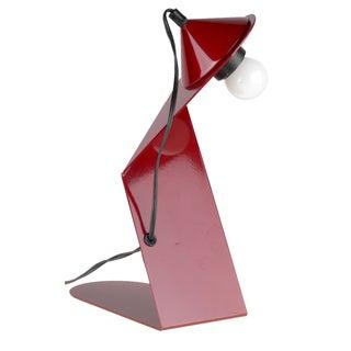 Red Stilnovo Table Lamp