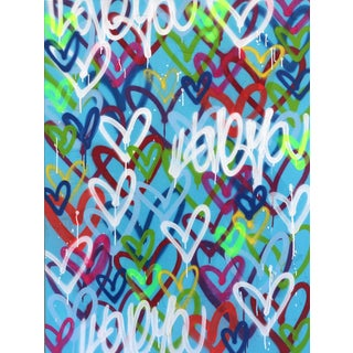 """""""Happy Hearts"""" Original Artwork by Amber Goldhammer For Sale"""