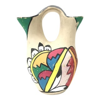 Handmade New Mexico Pottery Vase For Sale