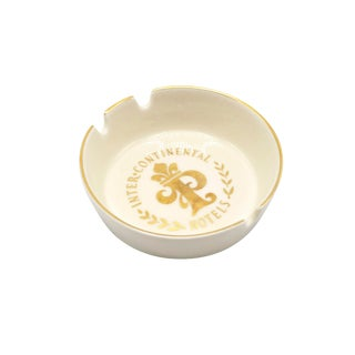 Intercontinental Hotel Paris Ashtray For Sale