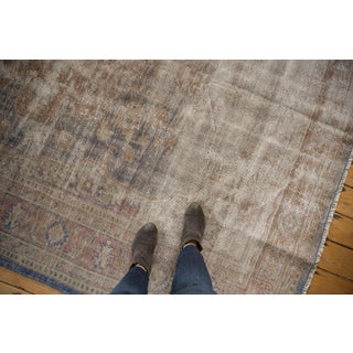 "Vintage Distressed Oushak Carpet - 7'9"" X 9'11"" Preview"