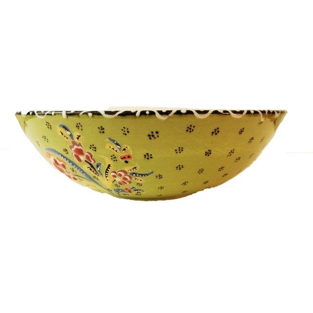 Turkish Hand Painted Ottoman Bowl - Image 9 of 10