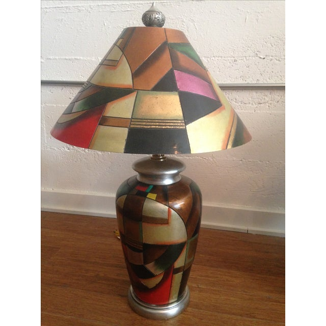 C. 1960 Kalifano Art Pottery Lamps - A Pair - Image 3 of 7