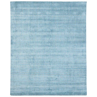 Contemporary Beach Style Area Rug - 8′ × 9′10″ For Sale