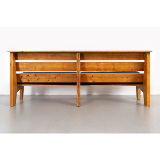 Charlotte Perriand Bench for Marie Blanche Hotel by Charlotte Perriand For Sale - Image 4 of 11