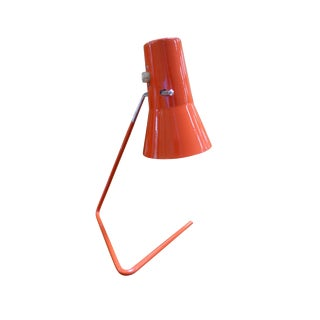 1950s Modern Bauhaus Osef Hurka for Drupol-Praha, Czech Desk Lamp For Sale