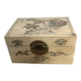 Early 20th Century Chinoiserie Box For Sale