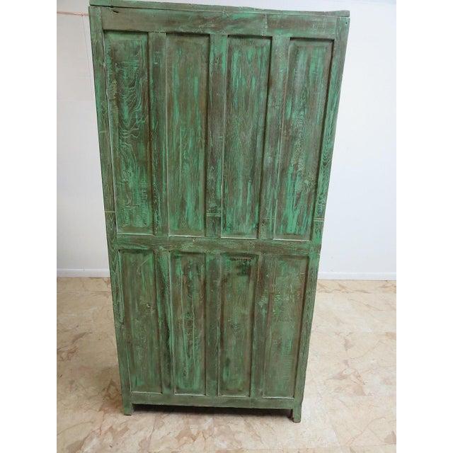 Antique Primitive Wardrobe Cupboard - Image 5 of 6