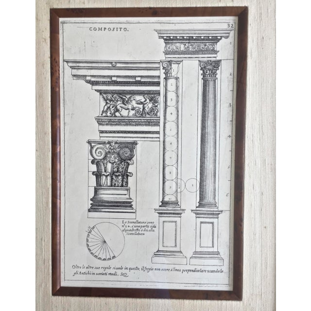 French Classical Elemente of Architecture Print Plate #32 For Sale - Image 3 of 4