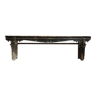 Mid 20th Century Antique Ming Altar Console For Sale
