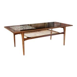 Mid Century Modern Danish Silkeborg Coffee Table For Sale