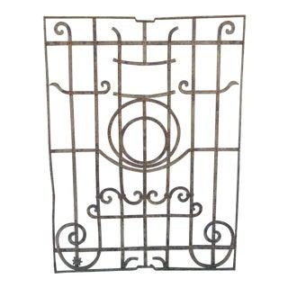 Antique Victorian Iron Gate Door For Sale