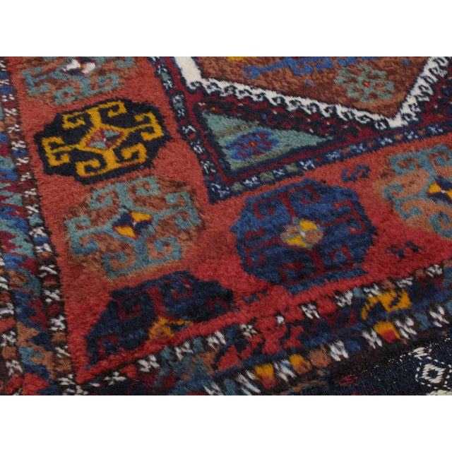 Textile Antique Kurdish Rug For Sale - Image 7 of 10