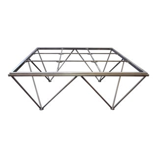 Modern European Style Octagon Metal Coffee Table