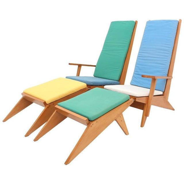 1970s Swimming Pool Lounge Chairs - a Pair For Sale - Image 11 of 11