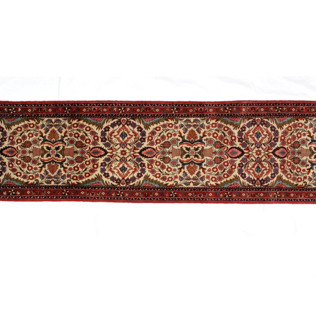 "Islamic Leon Banilivi Persian Lillihan Rug - 2'6"" X 13'9"" For Sale - Image 3 of 4"