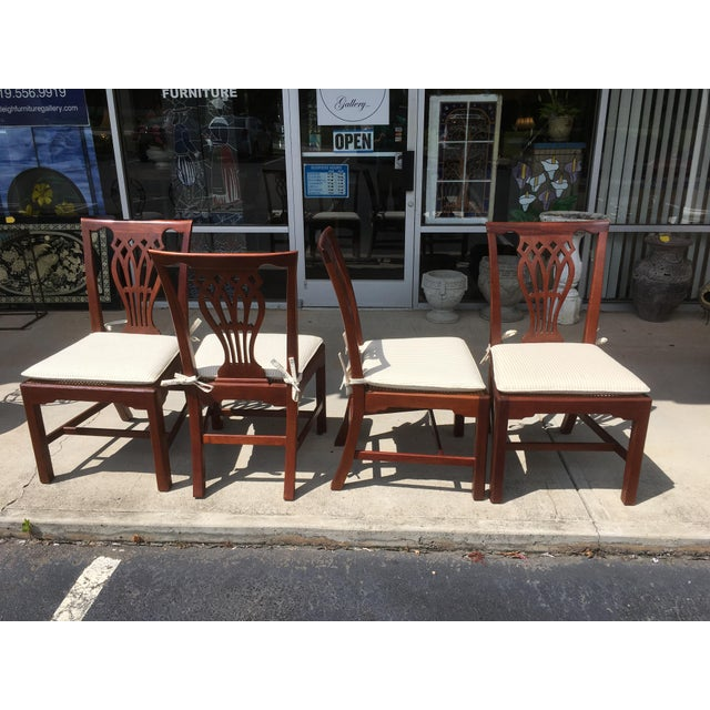 Baker Furniture Dining Chairs - Set of 4 - Image 3 of 6