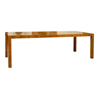 Gorgeous Olive Wood Dining/Conference Table For Sale