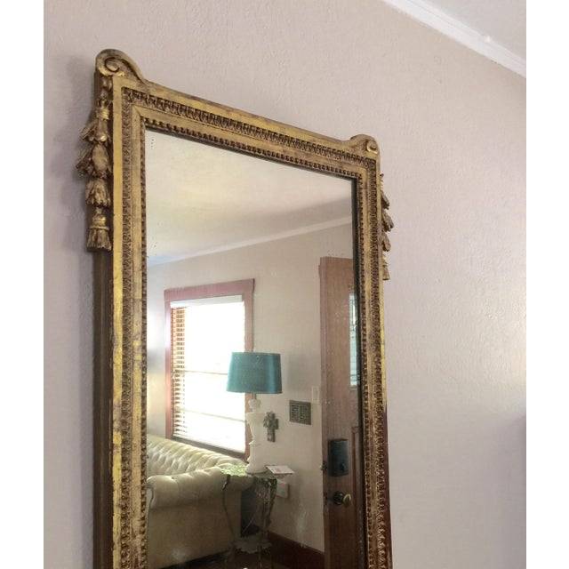 Antique French Gold Leaf Gilt Mirror - Image 3 of 9
