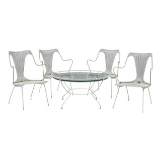 Maurizio Tempestini for Salterini Patio Set - 5 Pieces For Sale