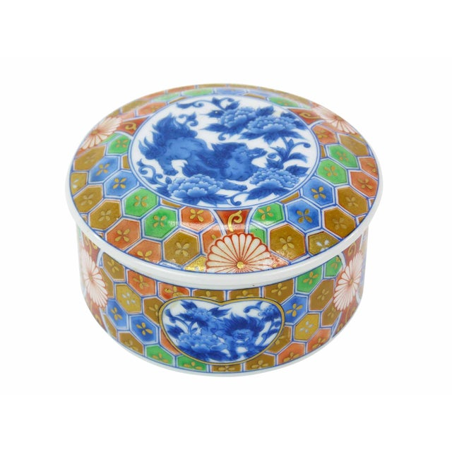 Japanese Imari Porcelain Trinket Box - Image 1 of 6