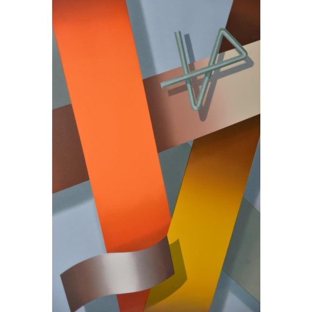Black Daniel Heidi Modernist Abstract Serigraph For Sale - Image 8 of 10