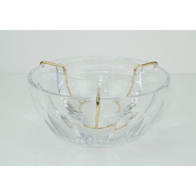 Baccarat Baccarat Crystal Caviar Serving Bowls Set With Box For Sale - Image 4 of 13