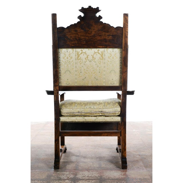 Renaissance Arm Chairs - Pair For Sale - Image 10 of 10