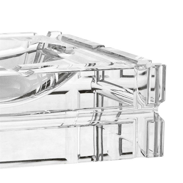Accessorize your interior in style with the Nestor Ashtray. This premium quality crystal glass ashtray features four...