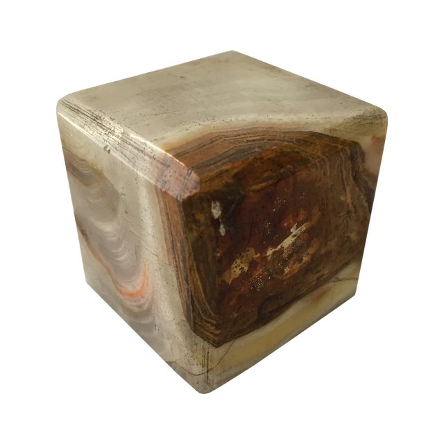 Vintage Agate Cube - Image 1 of 4