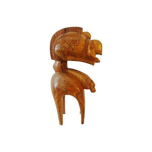 Vintage African Baga Nimba Kingwood Sculpture For Sale - Image 4 of 7