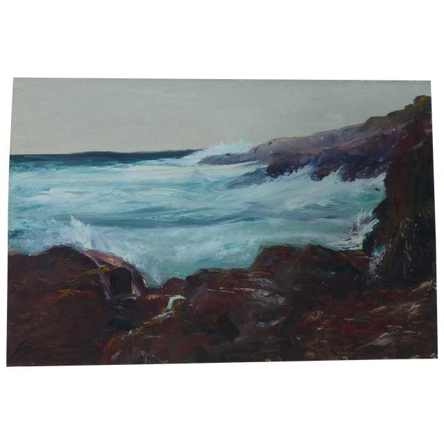 h.l. Musgrave Mid-Century Atlantic Ocean Painting - Image 1 of 7