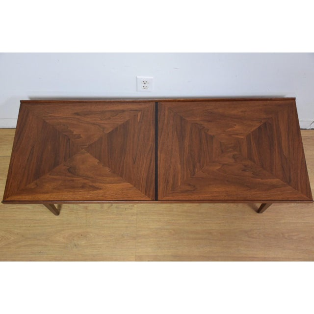 Walnut and Rosewood Coffee Table - Image 5 of 7