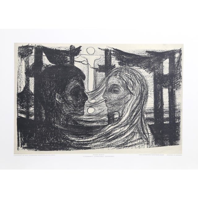 Edvard Munch, Attraction Ii, Poster For Sale
