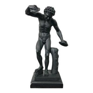 "Grand Tour Roman Classical ""Satir"" Sculpture Statue For Sale"
