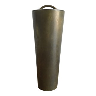 Vintage 1960s Italian Brass Cocktail Shaker For Sale