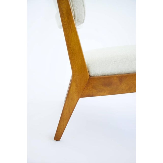 Risom Armless Lounge Chair For Sale In New York - Image 6 of 10