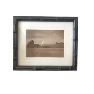 Original Press Photo of Ocean Liner Cap Polonio Passing Sugar Loaf For Sale